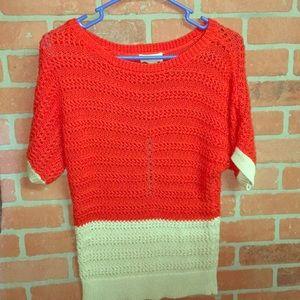 LOFT Short Sleeve Sweater - New - S